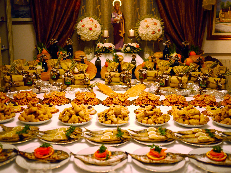 Le tavole di san giuseppe il rito il cibo la sacralit - La tavola di melusinda ...