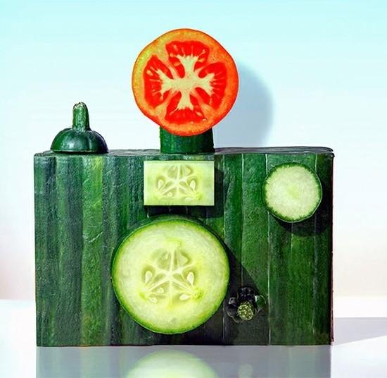 macchina-fotografica-di-verdura